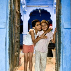 Jodhpur the blue series by photographer Jean-Pierre Muller