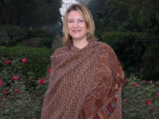 The first photo taken of me in India, Siri Fort, South Delhi, 2005
