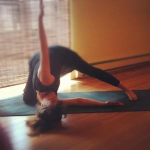30-day yoga challenge at Lila Yoga Studio Toronto - yoga teacher Janice