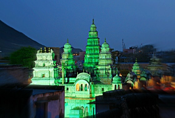Temple in Pushkar, Rajasthan, India