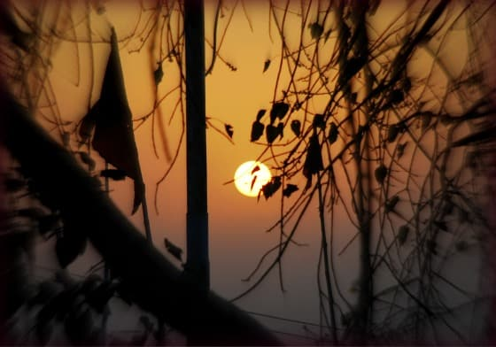 Varanasi sunset, India