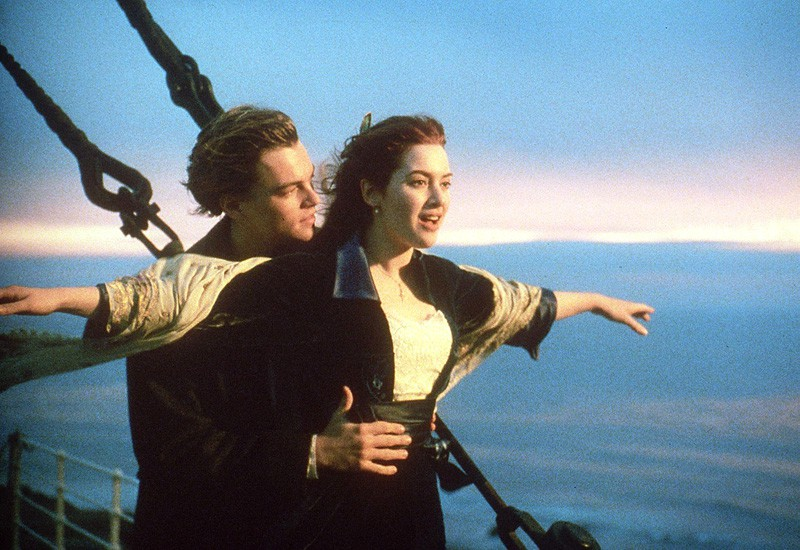 Titanic movie with Leonardo diCaprio and Kate Winslet