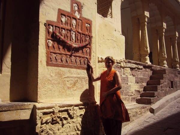 At Mehrangarh Fort, Jodhpur, Rajasthan, India