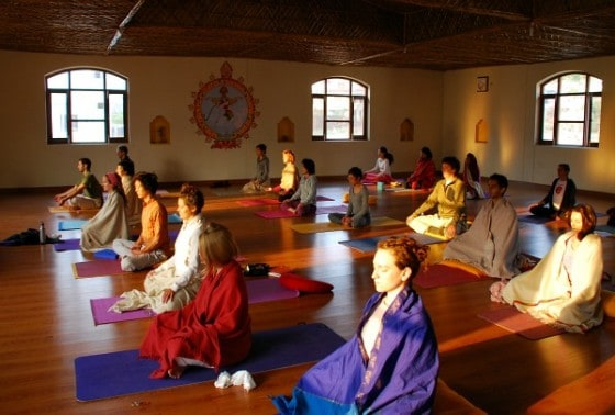 Photograph of Anand Prakash Yoga Ashram Rishikesh India