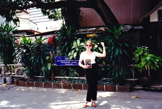 Photograph of Mariellen Ward of Breathedreamgo travelling in Bangkok Thailand