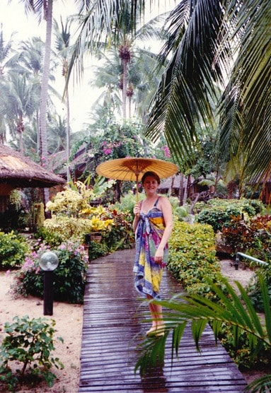 Photograph of Mariellen Ward of Breathedreamgo travelling in Koh Samui Thailand