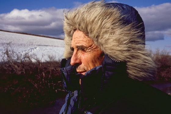 Author and Zen Buddhist monk Peter Matthiessen