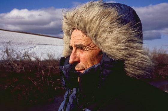 Author and Zen Buddhist monk Peter Matthiessen