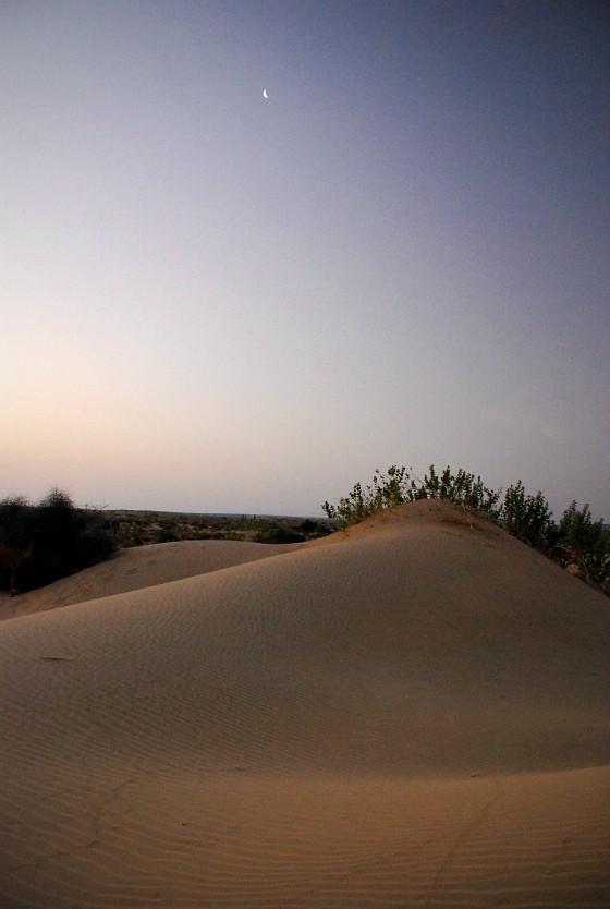 Sand dunes near Jaisalmer