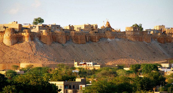 India travel adventure blog - Jaisalmer Fort,  Jaisalmer, Rajasthan India