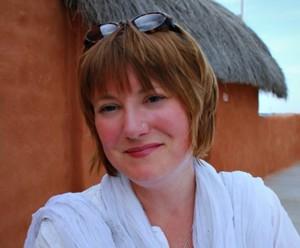 Mariellen Ward in Jaisalmer, Rajasthan, India
