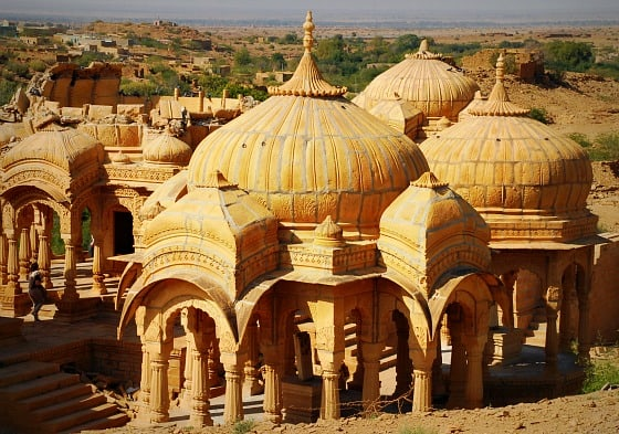 Bada Bagh, Royal Cenotaphs outside of Jaisalmer, Rajasthan, India