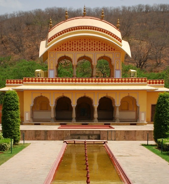 Amber Fort Summer Palace Garden, Jaipur, Rajasthan, India
