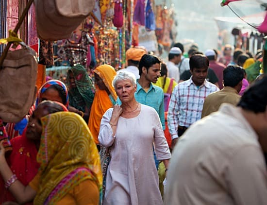 FIlm Review The Best Exotic Marigold Hotel - Judi Dench - Rajasthan India