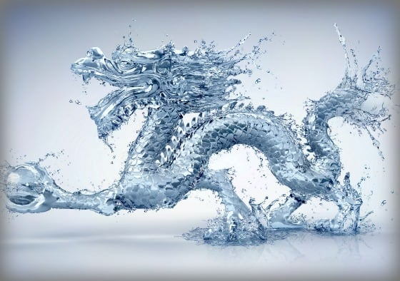 Water Dragon sculpture by Zhang Huan at Shangri-La Hotel, Toronto Photo credit: Feng Shui Agency