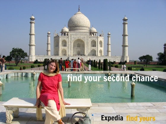 "This is my home-made version of the Expedia ""find yours"" campaign"