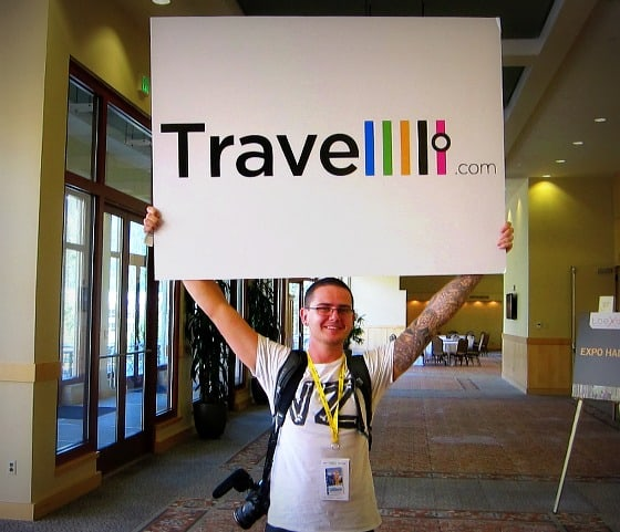 John O'Nolan, editor of Travelllll.com, travel blogging conference