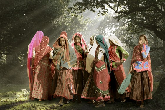 Women in India, women only tours