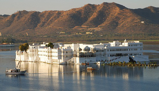 Lake Palace Hotel, Udaipur, India. A dream of a city in the Rajasthan desert.