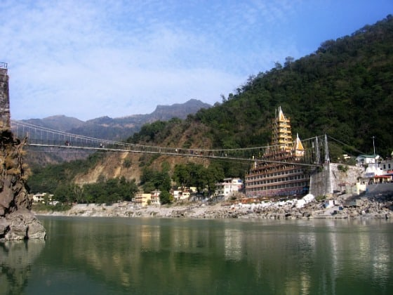 Rishikesh Lakshman Jhula, Yoga, India