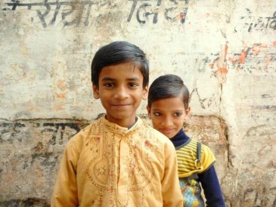 Children Varanasi India