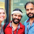 Kelly Marie Miller, Sarang Sathaye and Mohit Takalkar in Toronto: The Bright Day, India film TIFF