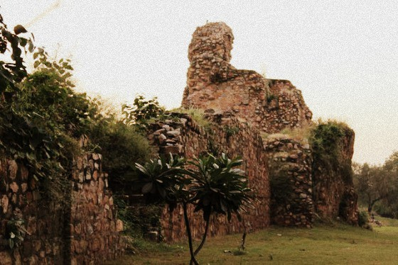 Historical site and monument: Siri Fort, Delhi, India
