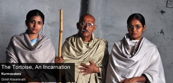 The Tortoise: a film about Mahatma Gandhi in India
