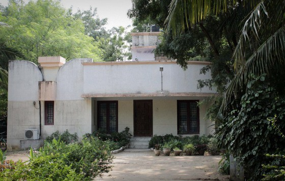 The guest house for volunteers at TDH CORE in Tiruvannamalai, Tamil Nadu, India