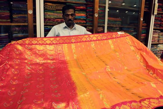 Nalli's Sari Saree store, Chennai, Tamil Nadu, India