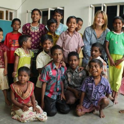 Visit to home for street kids in South India