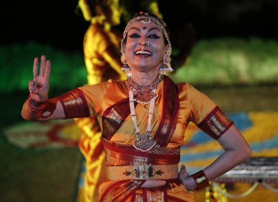 Konark Sun Temple Konark Festival - Odissi Dance Odisha India