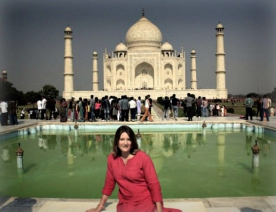 Taj Mahal Agra India Princess Diana Photograph