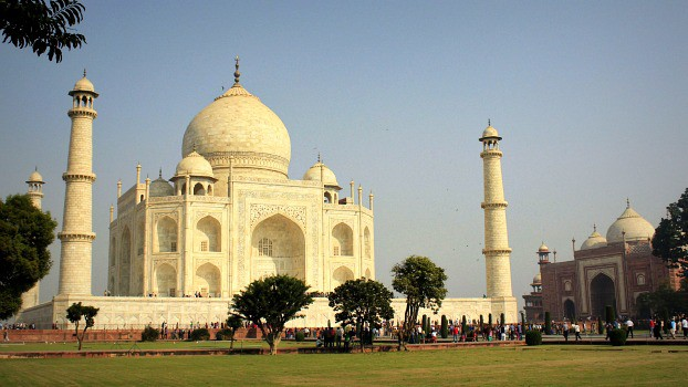 The Taj Mahal: An Arabian fantasy in India