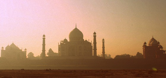 The Taj Mahal and the ITC Mughal sublime luxury in India