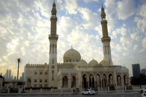 Typical Dubai mosque