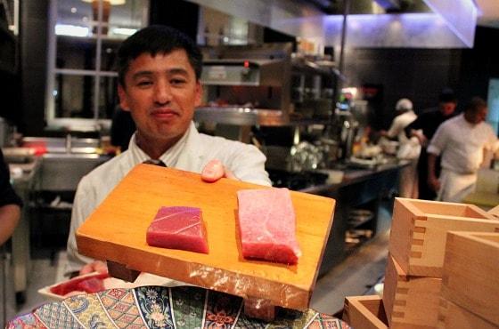 Le Meridien Sushi restaurant Dubai