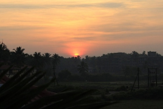 Goa India sunrise
