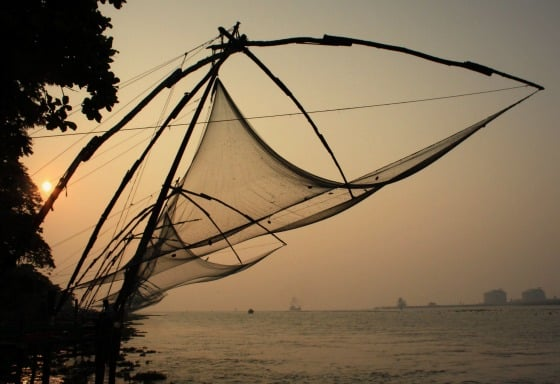Chinese FIshing nets, Kochi / Fort Cochin, Kerala, India