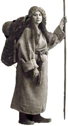 Alexandra David-Neel in Lhasa, Tibet