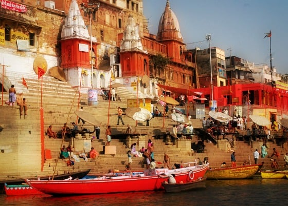 Ghats, sacred city, Varanasi, India