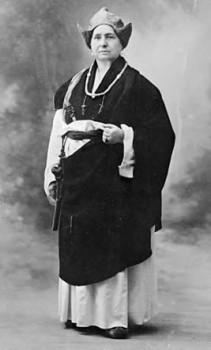 Alexandra David-Neel, female / woman explorer and writer