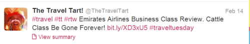 Anthony The Travel Tart