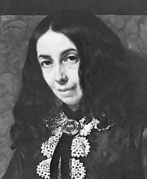 Elizabeth Barrett Browning female / woman poet and writer