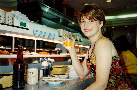 Travel writer Mariellen Ward in Tokyo Japan