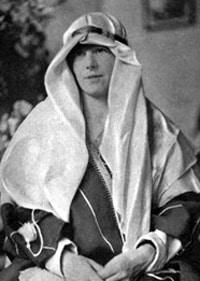 Freya Stark, female / woman explorer, writer, Arab expert