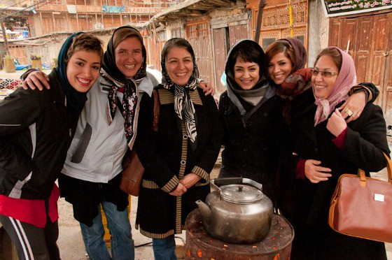 In a mountain village in Iran. Photo courtesy Audrey Scott.