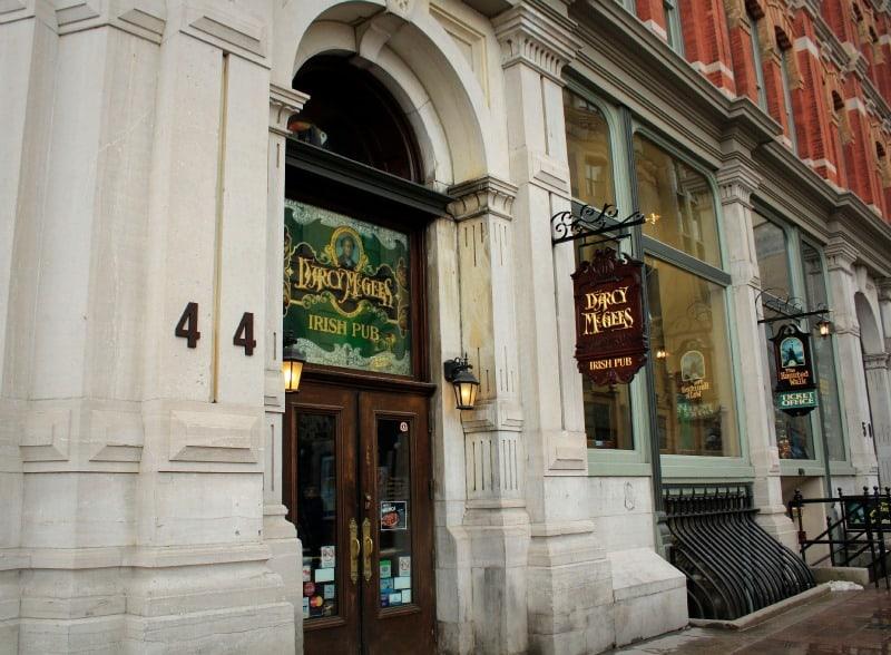 D'Arcy McGees pub on Sparks Street Ottawa
