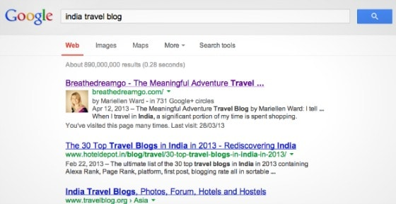 Breathedreamgo is top India travel blog on Google
