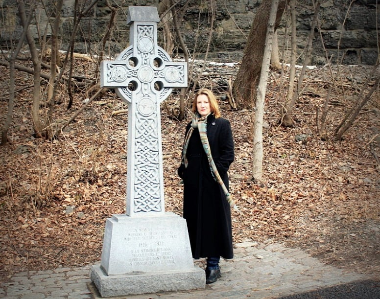 Mariellen Ward at Celtic Cross, Ottawa